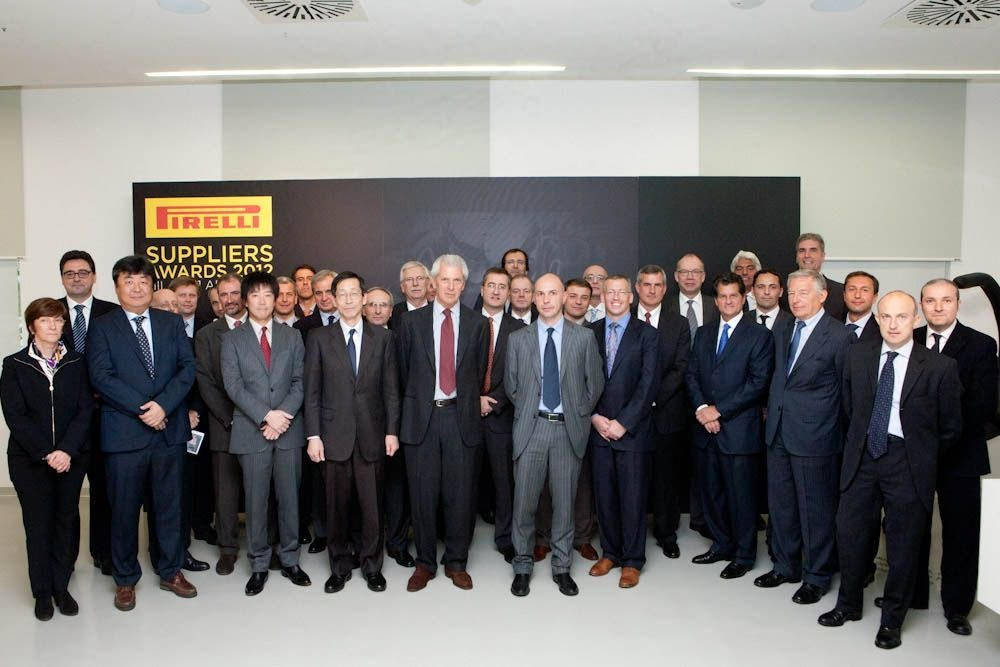 Pirelli hands out its first supplier awards