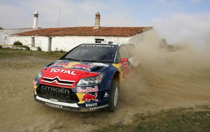 Pirelli shod Loeb wins the Rally of Portugal