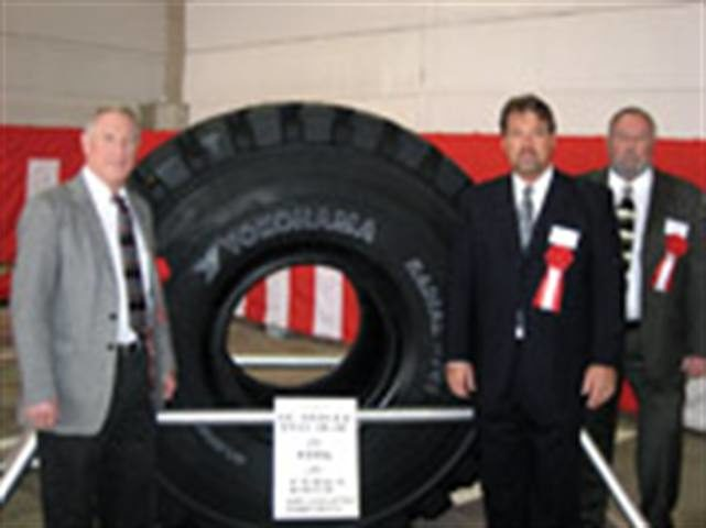 Playing catch-up: Yokohama opens second OTR plant. Forty percent of production will go to U.S.