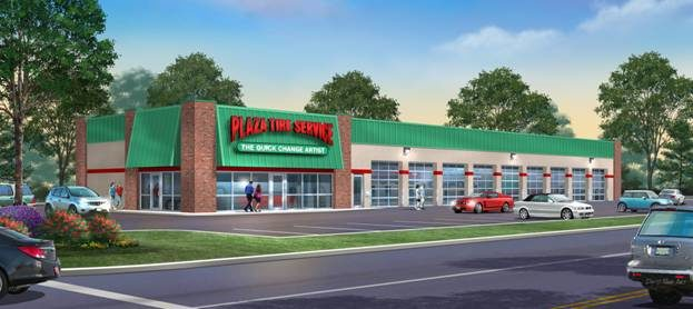 Plaza Tire celebrates 50 with a new flagship store