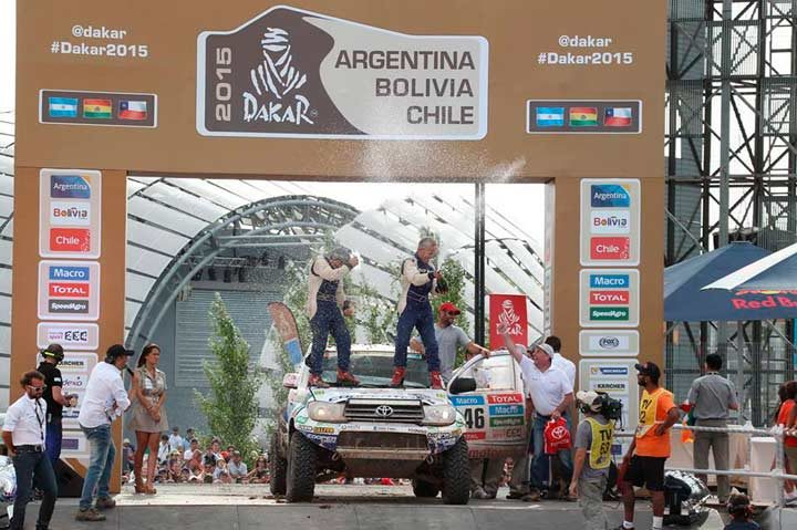 Podium for Xavi Foj in one of the toughest Dakar Rallies ever
