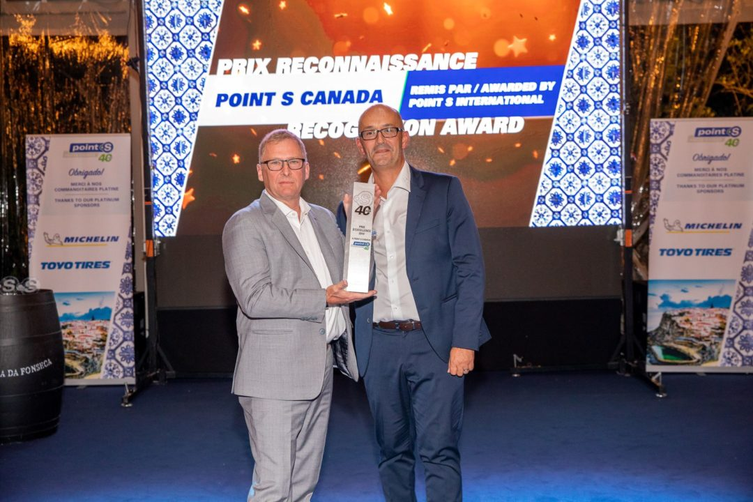 Point S Canada Earns Excellence Award