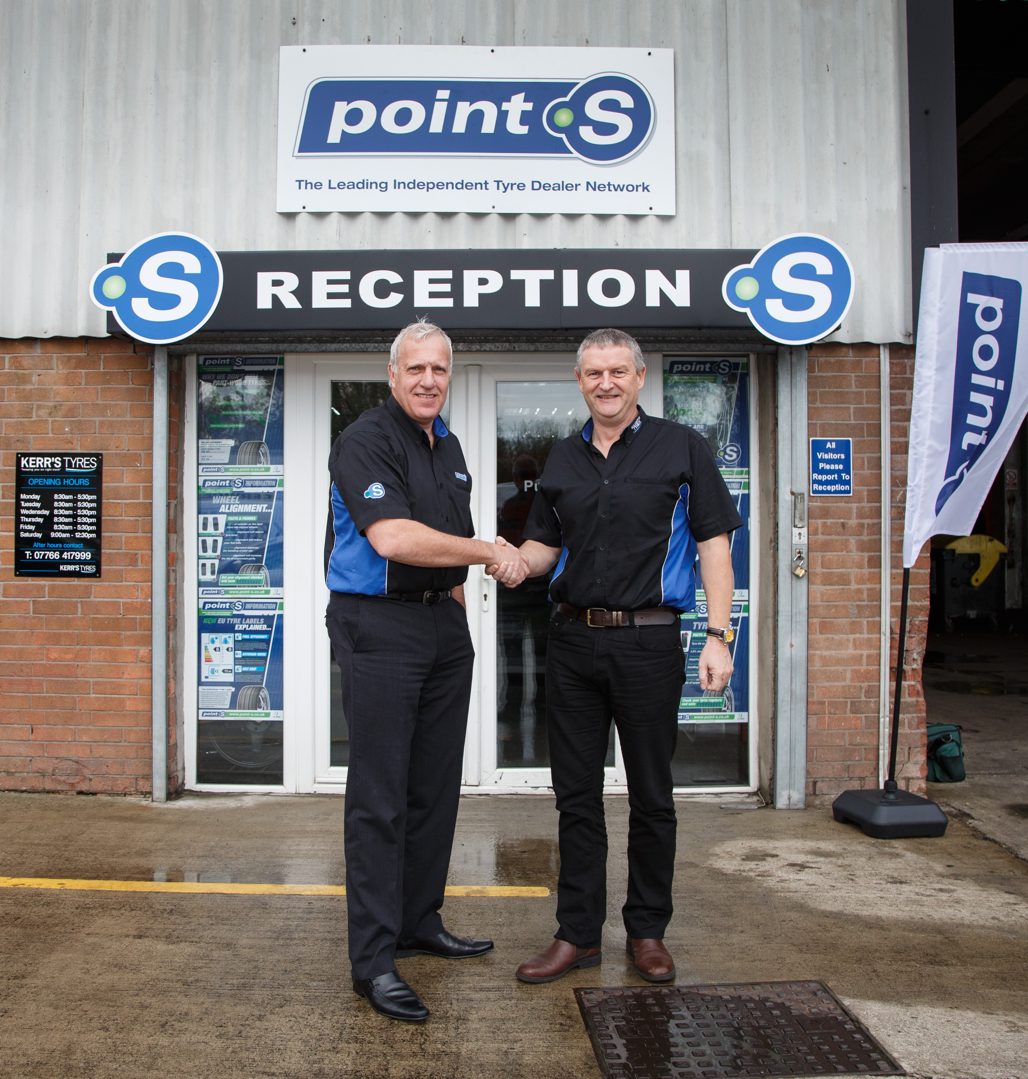 Point S signs on 200th member