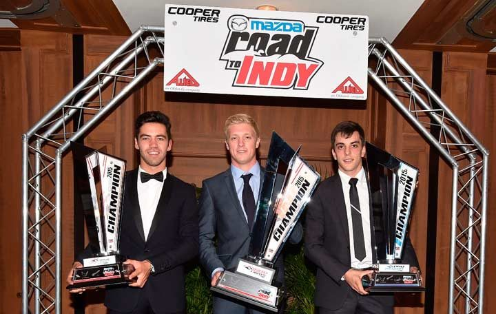 Prizes totaling over $2.3 Million distributed at Mazda Road to Indy banquet
