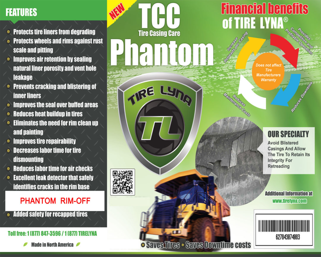 Protect Mining Tire Casings With Phantom Rim-Off