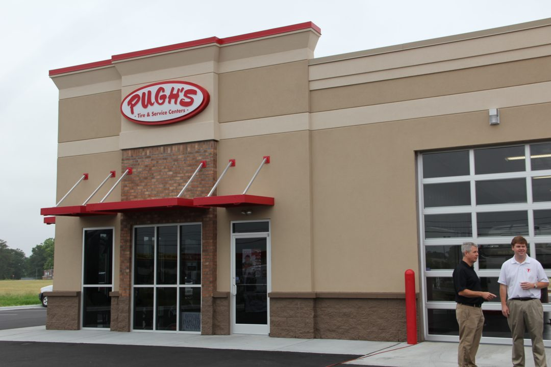 Pugh's Tire opens sixth retail store in N.C.