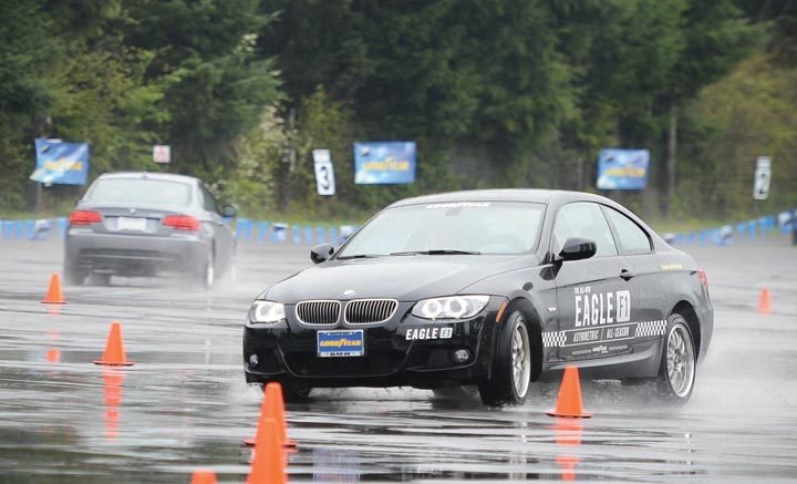 Put to the test: Goodyear Eagle F1