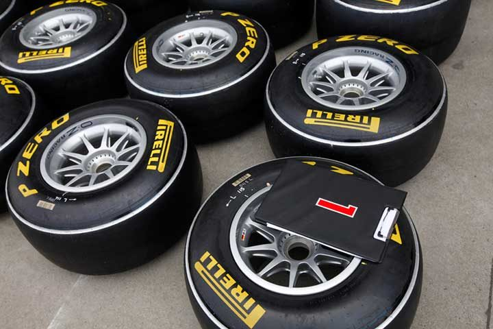 Race tires come home for Turkish Grand Prix
