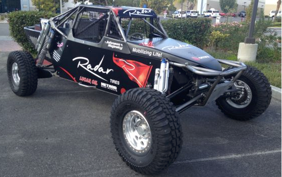 Radar Tires enters off-road racing with Mike Johnson