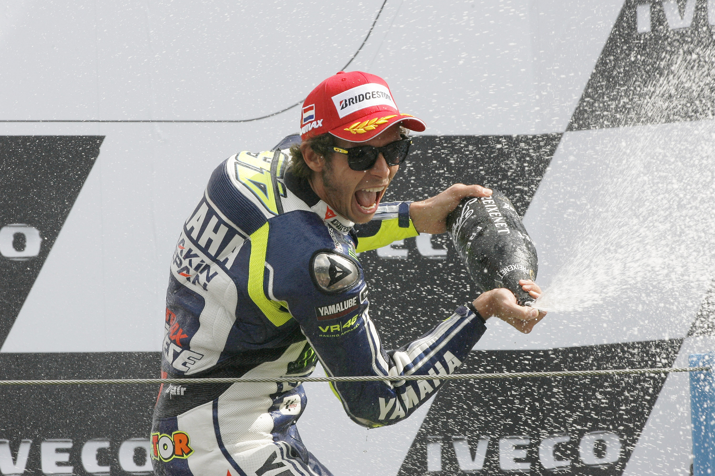 Rampant Rossi records first win of the season at Assen