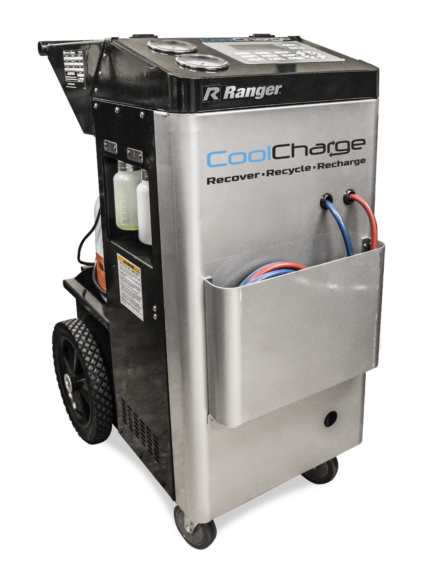 Ranger CoolCharge Machine Recharges Vehicle A/C Systems