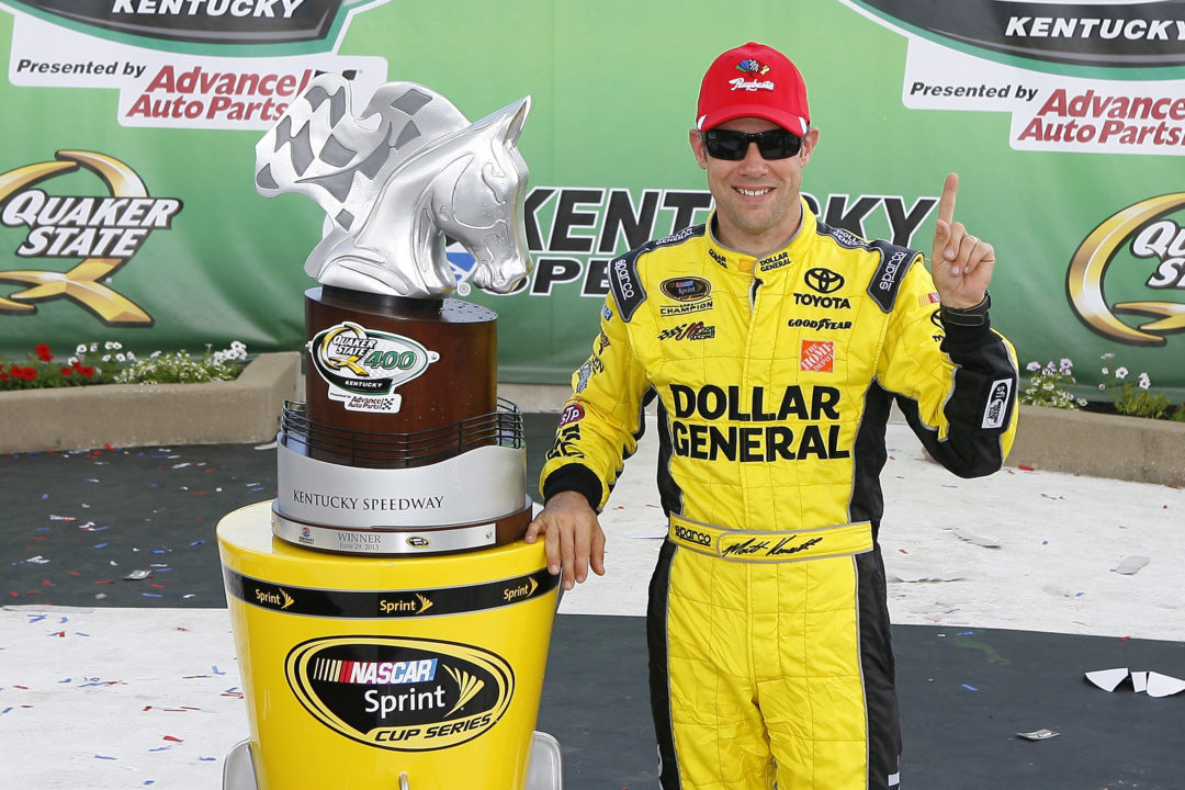 Raybestos Brakes help Kenseth earn fourth season win