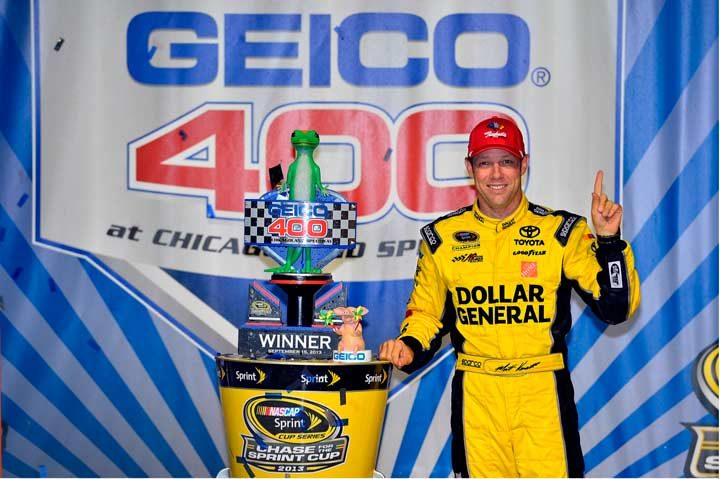 Raybestos Brakes help Kenseth win at Chicagoland