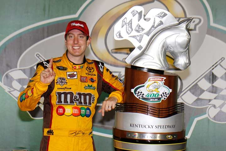 Raybestos brakes help Kyle Busch to Kentucky Speedway race victory