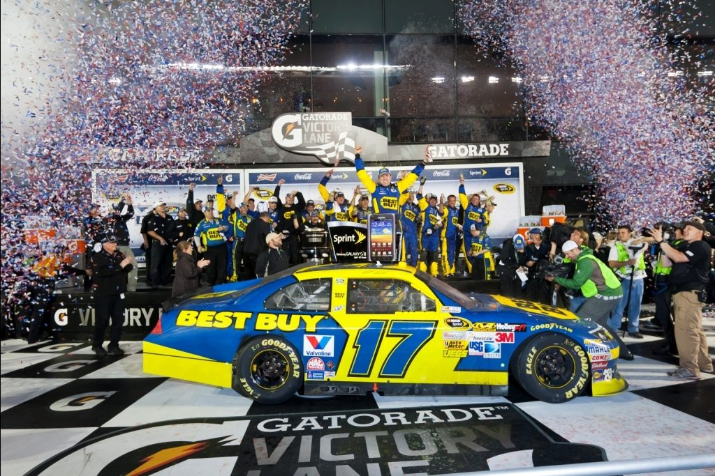 """Raybestos brakes help Roush Fenway Reach """"300"""" at the """"500"""""""