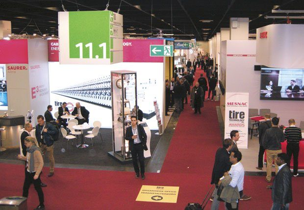 Record-breaking Tire Technology Expo held in Germany