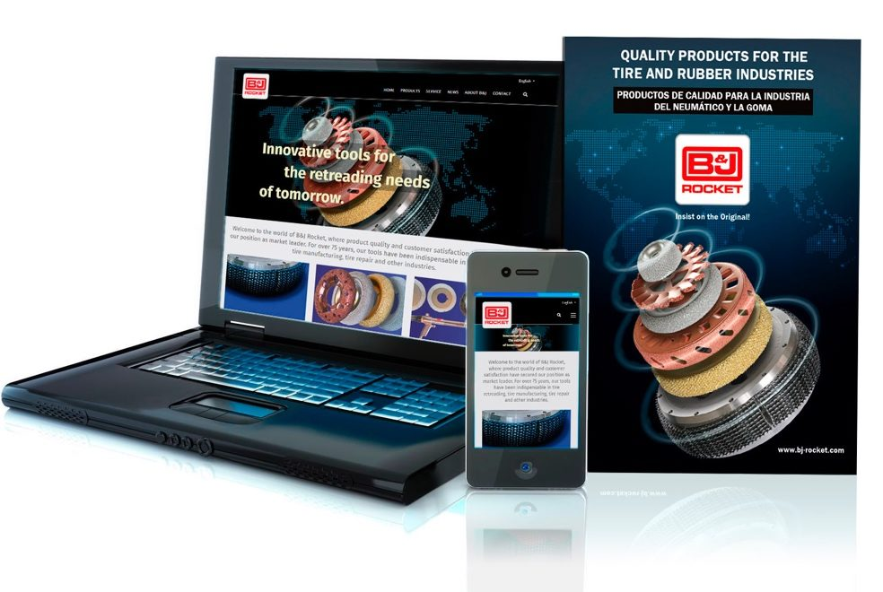 Redesigned Website and Catalog Aid B&J Rocket Customers