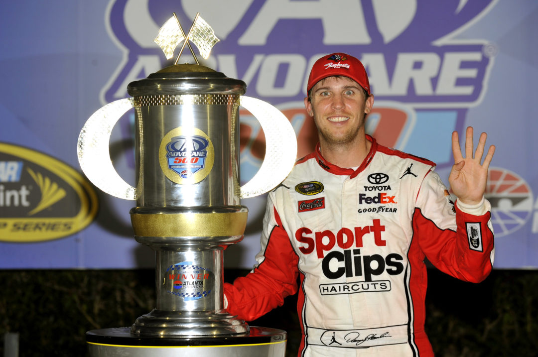 Repeat victory for Raybestos brakes and Denny Hamlin