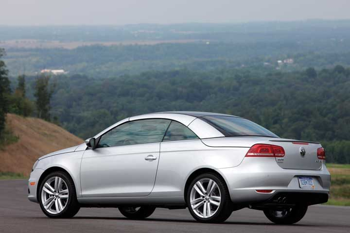 Replace tire valve cores on the Volkswagen Eos