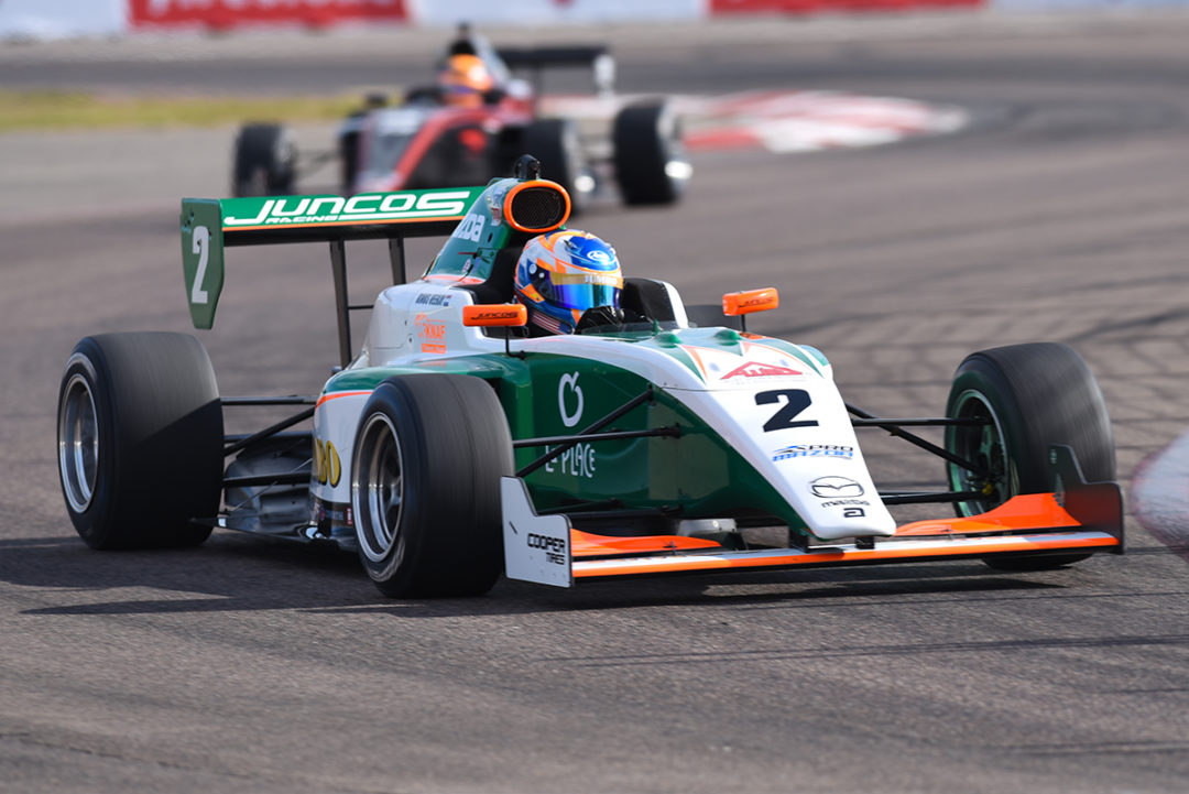 Rinus VeeKay Is Picture Perfect In St. Petersburg Pro Mazda