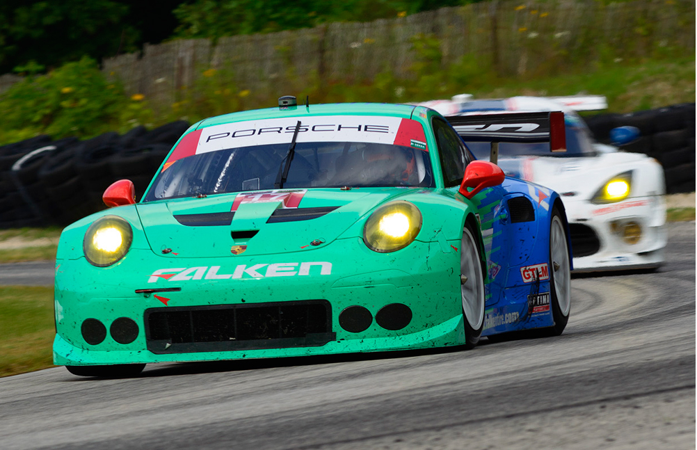 Road America TUSC result keeps Team Falken determined To finish 2015 season strong