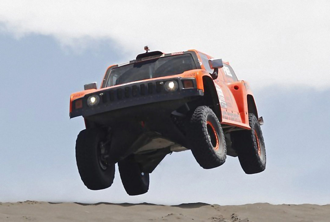 Robby Gordon and Toyo Tires cap the Dakar with stage 14 win