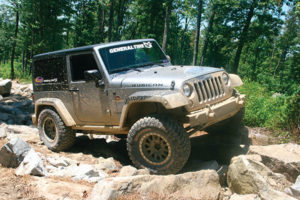 Rock Star: General Grabber X3 Mud Terrain Tire Goes to the Extreme
