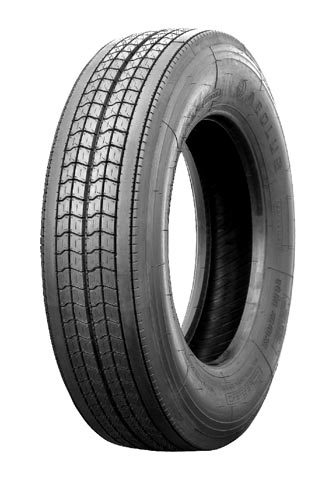 Roll models: Low-rolling resistance truck tires