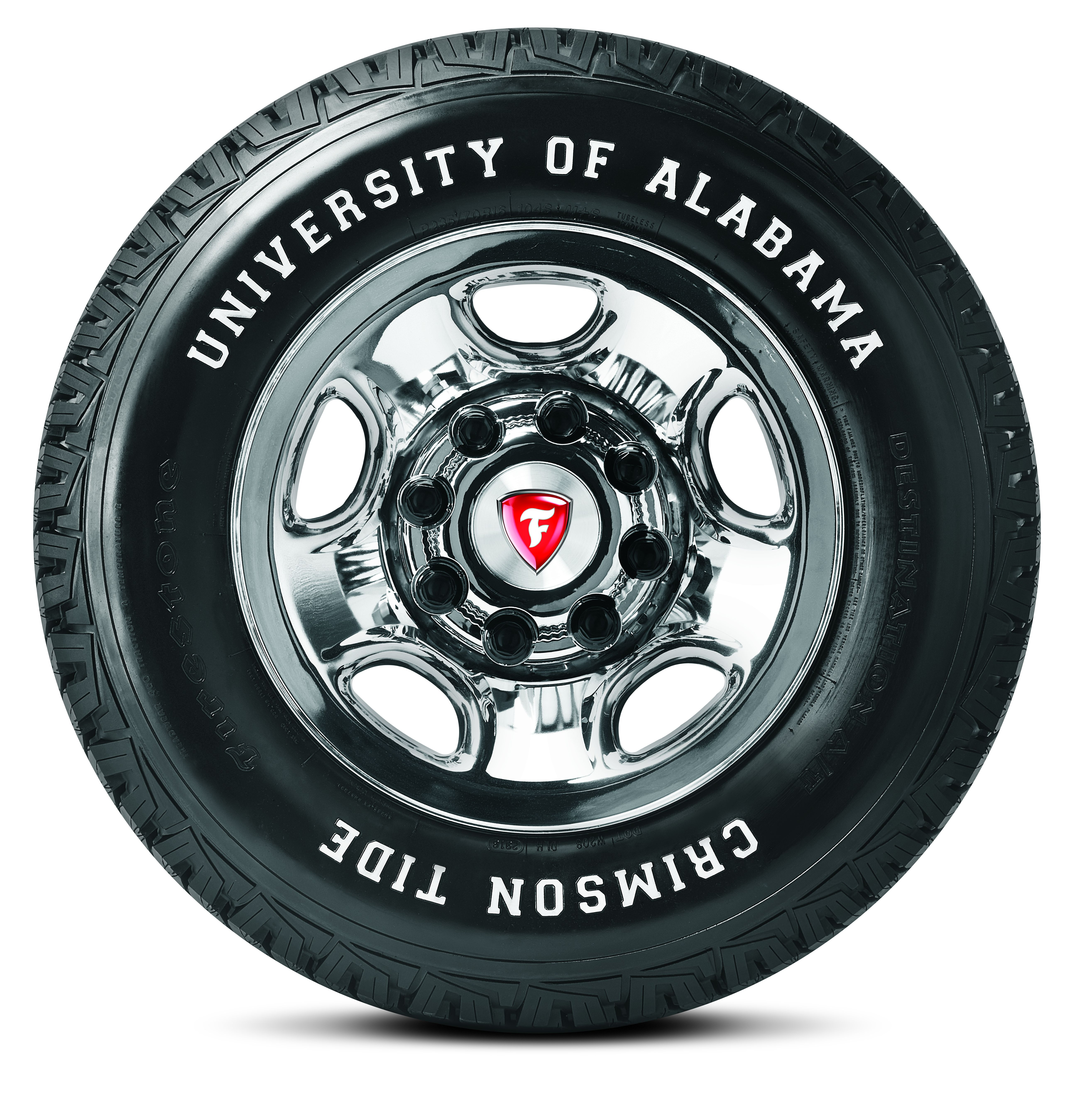 Roll Tide With the Firestone Destination A/T Tire