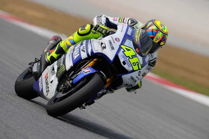 Rossi wraps up second Sepang test on top