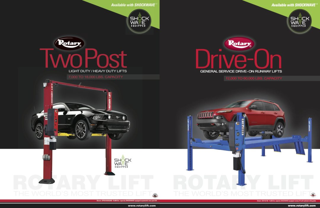 Rotary Lift makes it easier to compare products