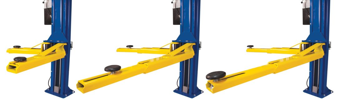 Rotary Lift upgrades two-post lift design