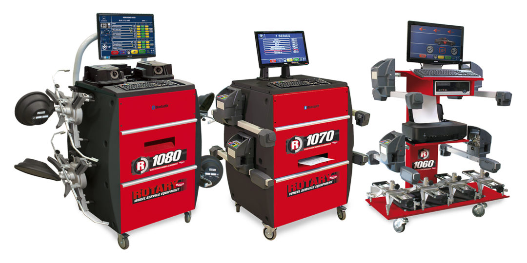 Rotary Unveils Tower-Free Wheel Alignment Equipment