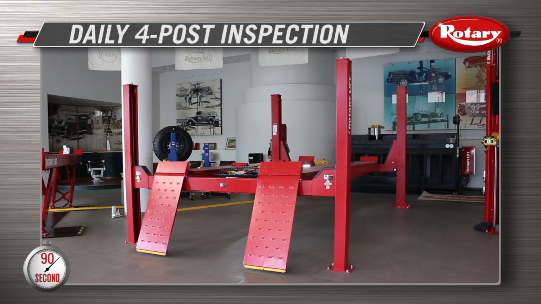 Rotary Video Covers Eight Steps for Daily Lift Inspections