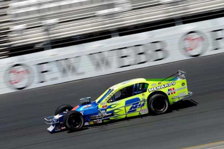 Ryan Newman wins on Performance Friction Calipers