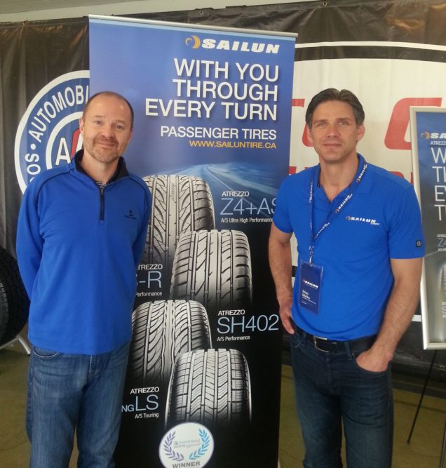 Sailun showcases two tires for dealers