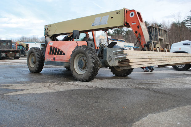 Sales of industrial tires pick up as ports and construction sites get busier