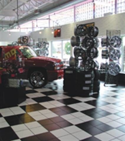 Schizophrenic by design: Is it a traditional tire dealership? A performance center? The new Jack Williams Tire store caters to a variety of customers in a seamless manner