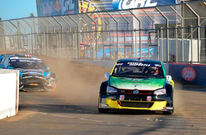 Scott Speed Continues Hunt for Red Bull Global Rallycross Championship