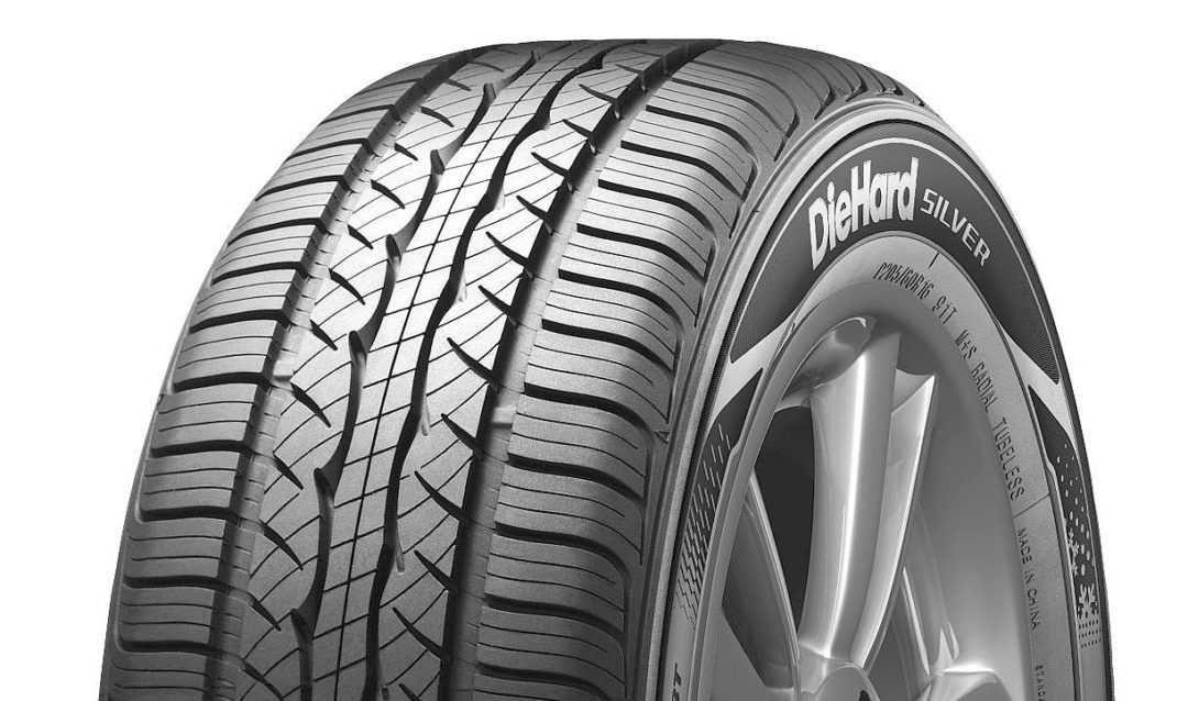 Sears Introduces Tire Brand: DieHard Silver Touring A/S
