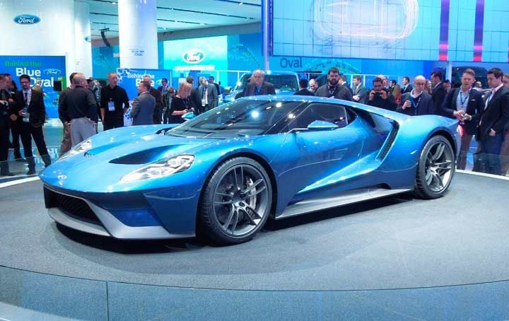 See Michelin tires on the Ford GT