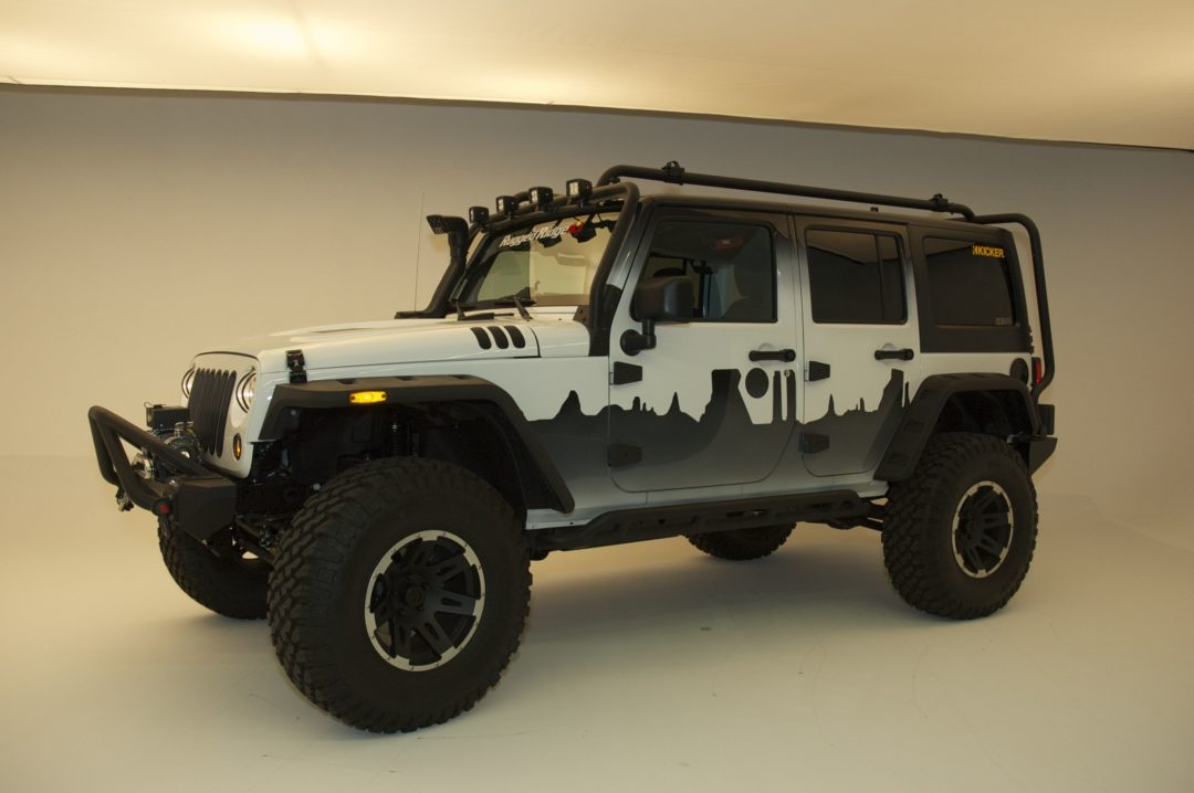 SEMA Cares to auction Jeep for charity