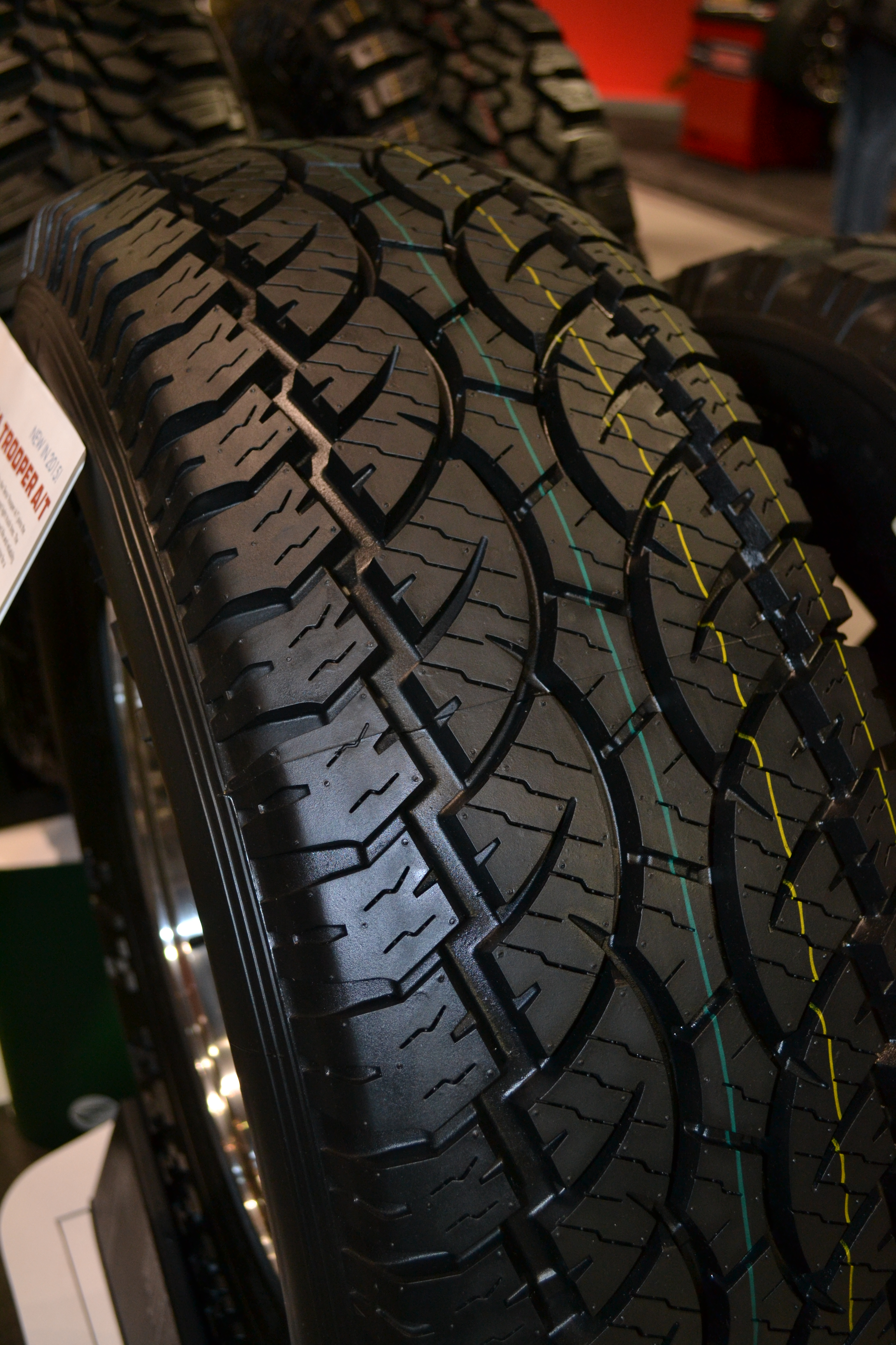 SEMA Show, Day Four: Greenball unveils Terra Trooper A/T