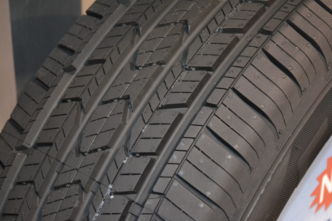 SEMA Show, Day One: peek at Cooper's new touring tire