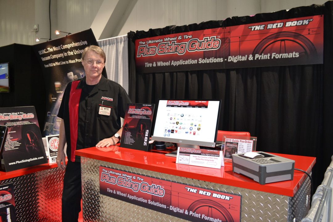 SEMA Show, Day Three: Plus Sizing Guide has reverse lookup