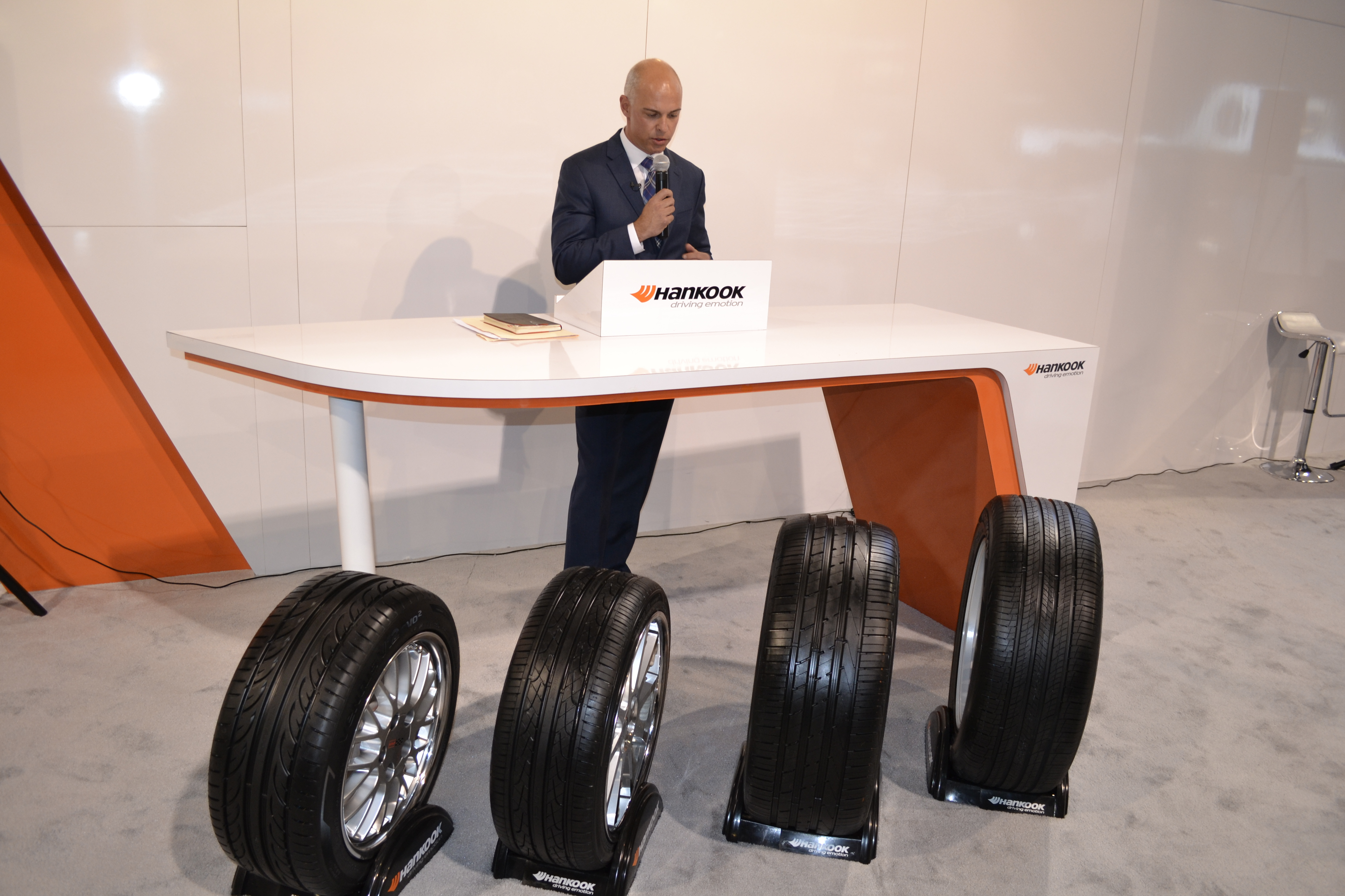 SEMA Show, Day Two: 4, count 'em, 4 new Hankook tires!
