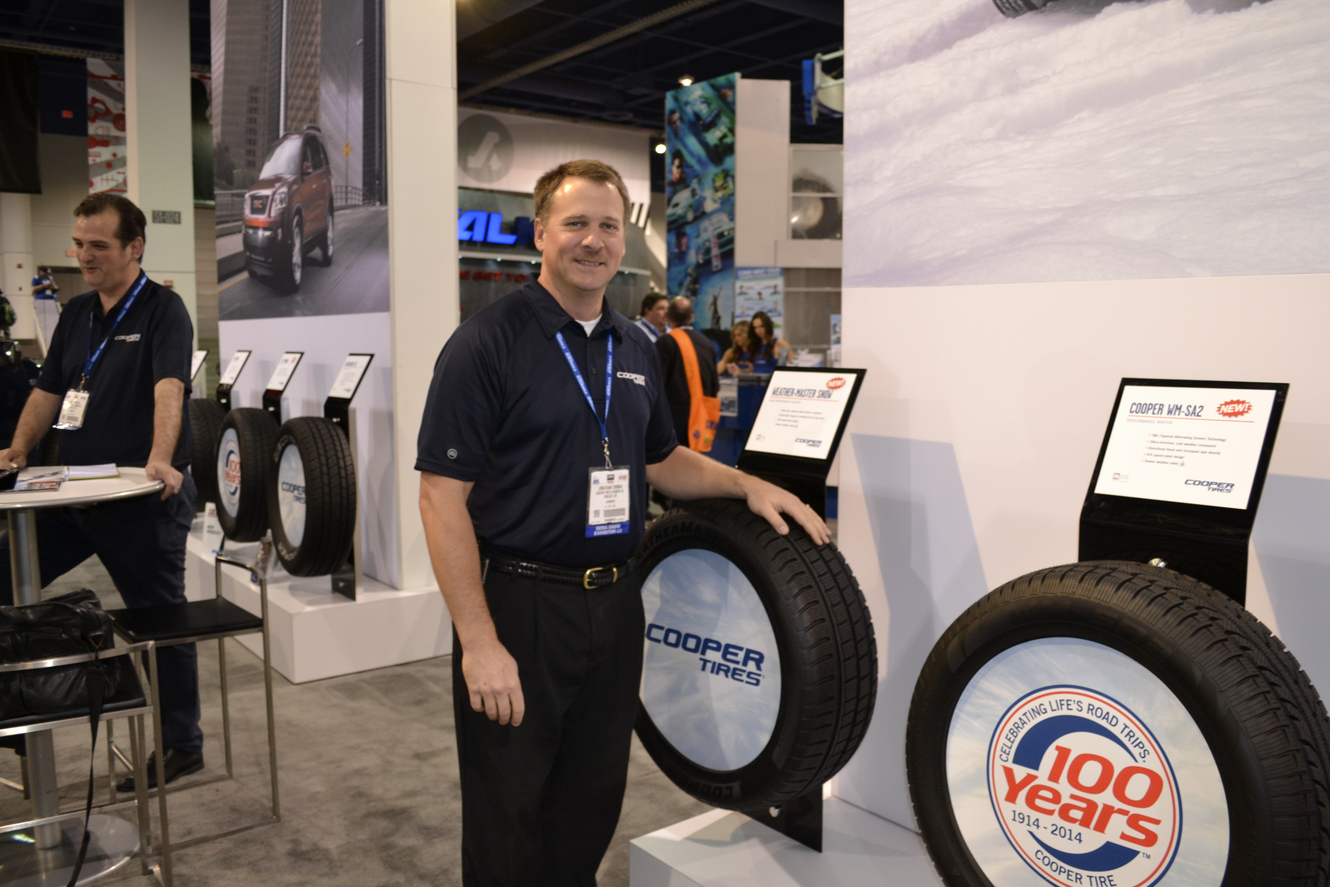SEMA Show, Day Two: Cooper adds winter tires