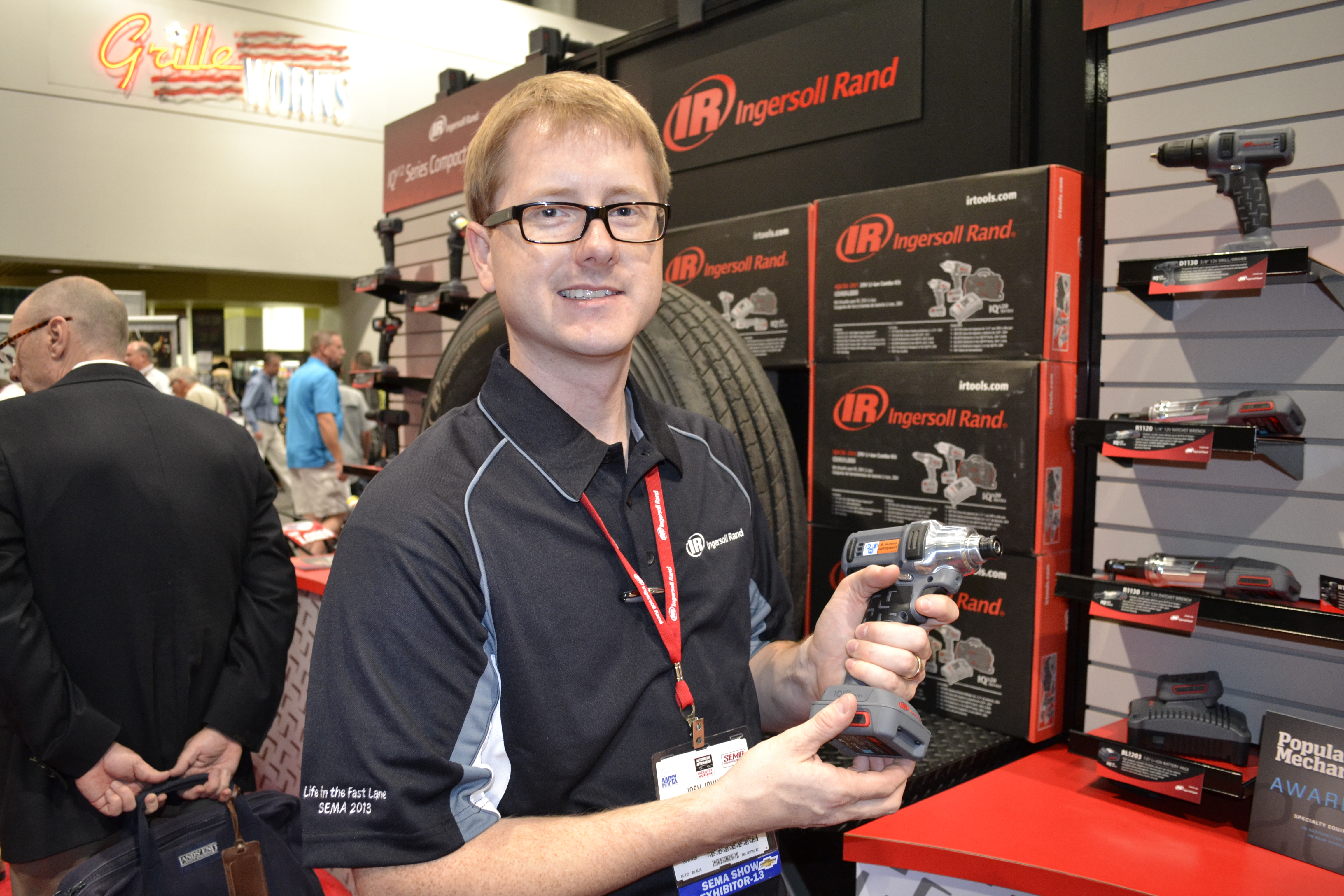 SEMA Show, Day Two: New Ingersoll Rand cordless tools