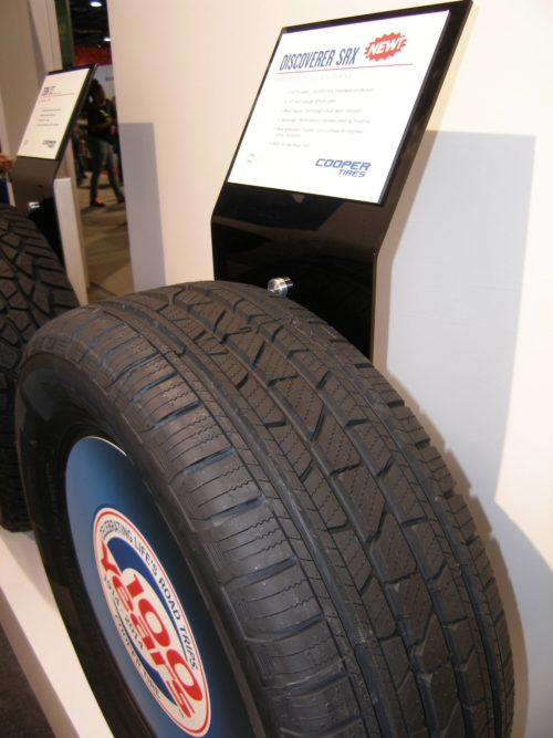 SEMA Show, Day Two: Silver for Discoverer