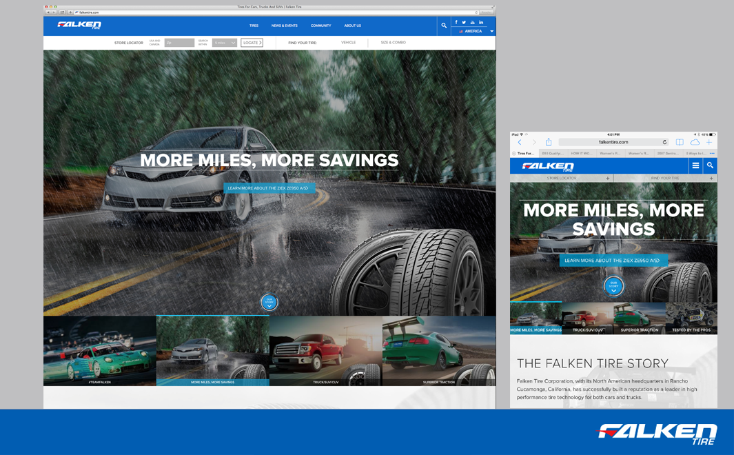 SEMA Show pre-show: Falken launches new consumer website